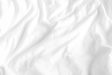 Close Up Of Bedding Sheets Wit...