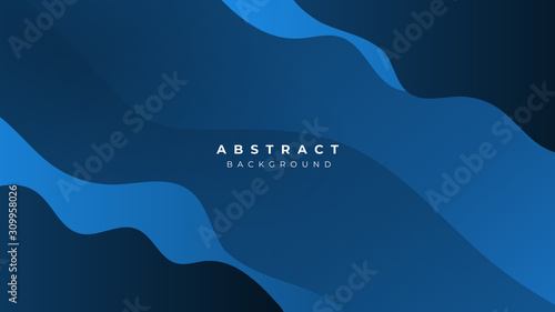 Fototapeta Pink Blue White Yellow Gradient Liquid Wave Abstract Background obraz
