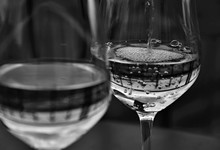 Glasses Of Wine - Bubbles - Bl...