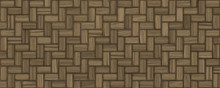 Seamless Brown Rough Wood Floor Background