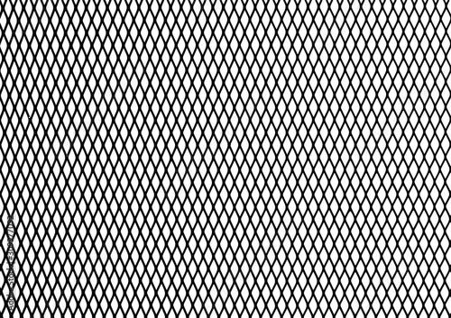 Tela  Silhouette Steel Chain link Fence Pattern