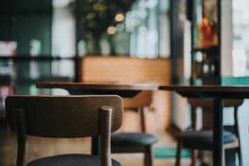 Chair Interior of a modern restaurant or bar