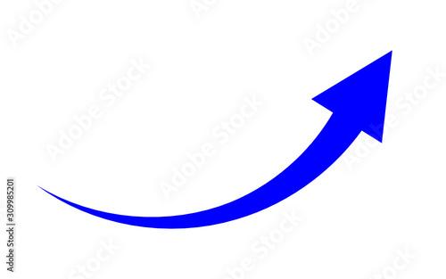 Obraz strzałka ikona - fototapety do salonu