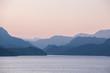 Sonnenuntergang am Boknafjord, Südnorwegen