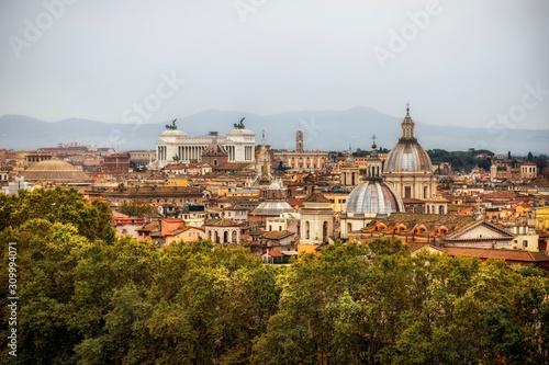 Photo TOITS DE ROME
