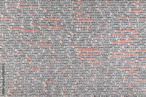 Fototapeta List of prisoners of war