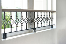 Steel Window Grating On House Window For Security And Beautiful Concept