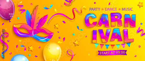 Foto Banner for fun carnival party