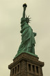 Sepia vintage style Statue of Liberty