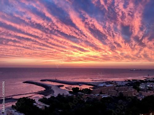 Photo Sunrise Over Persian Gulf