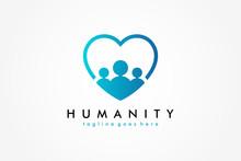 Social Humanity People Logo. F...