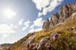 Südtiroler Alpen - Blick auf die Geisler Gruppe im Naturpark Puez Geisler