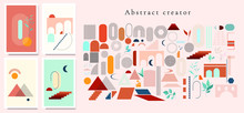 Abstract Design Creator. Set ...