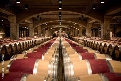 Photo wine barrels