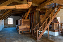 Interior Of Traditional Mill W...