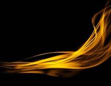 Abstract Light Wave Futuristic...