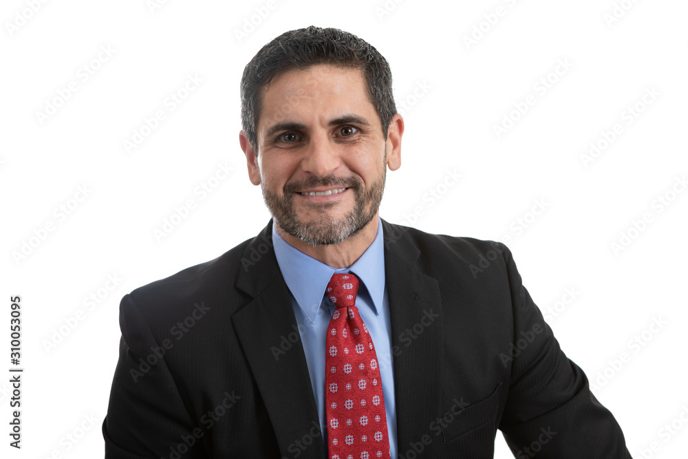 Fototapeta Portrait Headshot of a Businessman