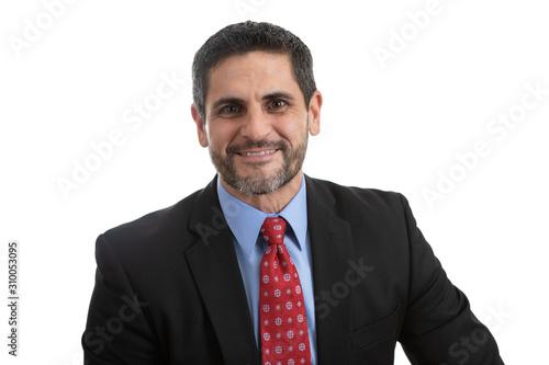 Fotografía Portrait Headshot of a Businessman