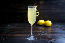 Elderflower French 75 Cocktail