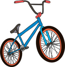 BMX Colorful Icon. Children's ...