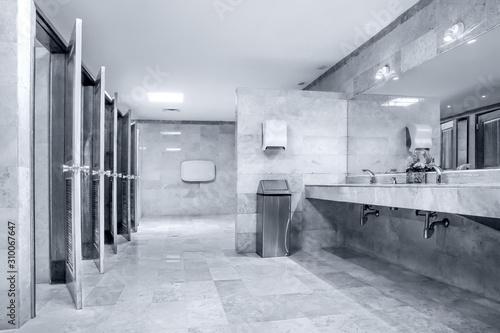 Fototapeta urban public design restroom obraz