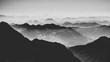 canvas print picture - Alpen-Ebenen