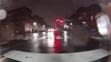Fast City Drive Night Road Tim...