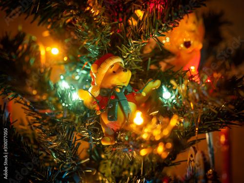 Photo Winnie the Pooh Christmas Ornament