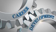 Career Development Concept. Wo...