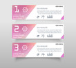 Set of infographic banner with polygonal, Geometric, Triangle pattern shape. web banner modern low polygon set background design, Geometric background. eps10 vector illustration.