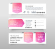 Abstract of Infographic web banner modern low polygon set background design, Geometric background. eps10 vector illustration.