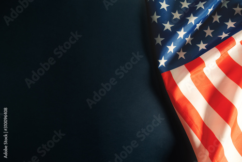 Fotografía Martin Luther King, Jr. Day Anniversary - American flag