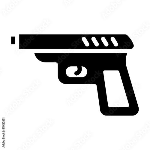 Shooting Pistol Canvas-taulu