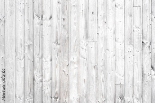 White wood texture wall for background.