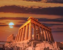 Parthenon Ancient Temple Facad...