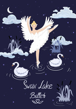 Poster To The Ballet Swan Lake...