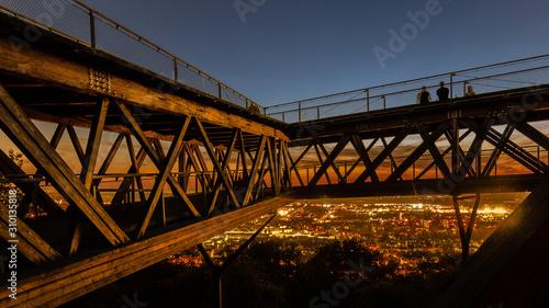 Fotografie, Obraz Koblenz Festung Ehrenbreitstein Aussichtsplattform