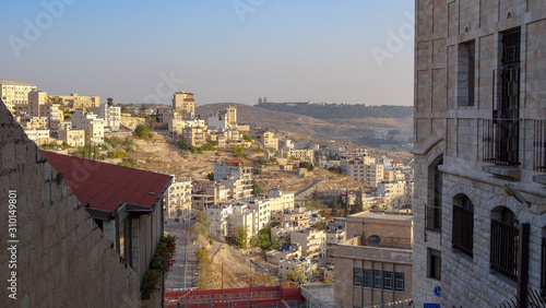 Bethleem is a beautiful city in State of Palestine Canvas Print