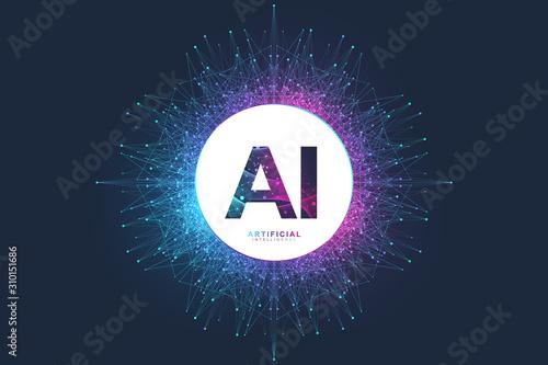 Fotografia Artificial Intelligence Logo