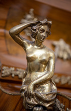 Decorative Figure Of Young Woman