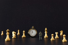 Image Of Chess Game. Businessm...