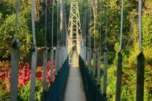 Suspension Bridge Accross Maha...