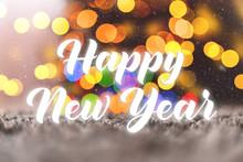 Illustration Of Happy New Year...