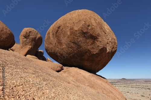 Photo Spitzkoppe  Granite Marbles  Namibia