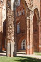 Dome Church Ruins In Tartu, Es...