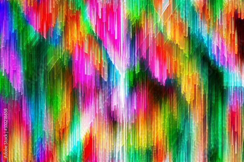 Obraz An abstract psychedelic background image. - fototapety do salonu