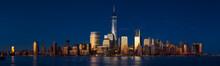 Lower Manhattan Panoramic Suns...