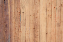Light Natural Wood Texture Background Surface Board With Old Pattern. Rustic Vintage Timber