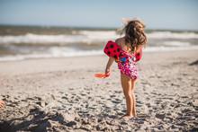 Girl And Beach