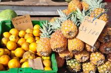Fruit Seller In Panama